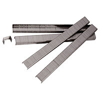 Скобы для пневматического степлера, 6 мм, ширина 1,2 мм, толщина 0,6 мм, ширина скобы 11,2 мм, 5000 шт Matrix