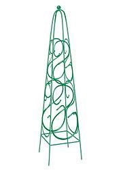 Пирамида садовая декоративная для вьющихся растений, 112.5 х 23 см, квадратная Palisad