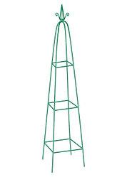 Пирамида садовая декоративная для вьющихся растений, 198 х 33 см, пирамида Palisad