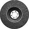 Круг лепестковый торцевой, конический, Р 80, 125 х 22.2 мм Сибртех