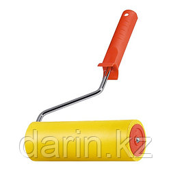 Валик прижимной резиновый с ручкой, 40 мм, D ручки 6 мм MTX