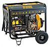 Дизельная сварочная генераторная установка DW180Е, 4,5 кВт, 220 В/50 Гц, 12,5 л, электростарт Denzel
