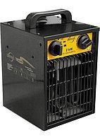 Тепловой вентилятор электрический FHD 2000, 2 кВт, 220 В, 50 Гц. DENZEL