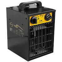 Тепловой вентилятор электрический FHD 5000, 5 кВт, 2 режима, 380 В, 50 Гц Denzel