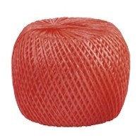 Шпагат полипропиленовый красный, 1.4 мм, L 500, Россия Сибртех