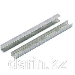 Скобы, 8 мм, для мебельного степлера, усиленные, тип 140,1250 шт Gross