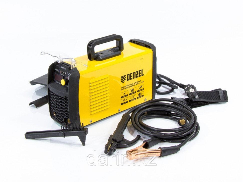 Аппарат инверторный для дуговой сварки ММА-180CI Denzel