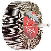 Круг лепестковый для дрели, 80 х 30 х 6 мм, P 120 Matrix