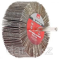 Круг лепестковый для дрели, 80 х 40 х 6 мм, P 60 Matrix