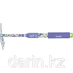 Мотыжка комбинированная, 65 х 385 мм, стальная, удлиненная рукоятка, Flower Mint, Palisad