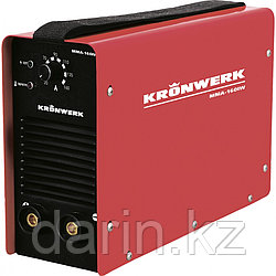 Аппарат инверторный дуговой сварки ММА-180IW, 180 А, ПВР 60%, диаметр электрода 1.6-4 мм, провод 2 м Kronwerk
