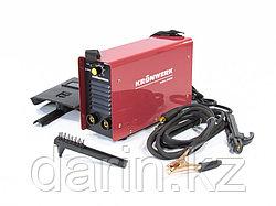 Аппарат инверторный дуговой сварки ММА-200IW, 200 А, ПВР 60%, диаметр электрода 1.6-5 мм, провод 2 м Kronwerk