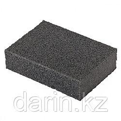 Губка для шлифования, 100 х 70 х 25 мм, мягкая, P 60 Matrix