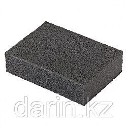 Губка для шлифования, 100 х 70 х 25 мм, мягкая, P 80 Matrix