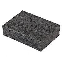 Губка для шлифования, 100 х 70 х 25 мм, мягкая, P 100 Matrix, фото 1