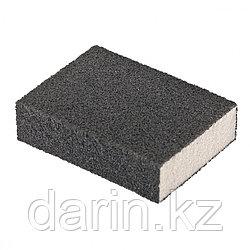 Губка для шлифования, 100 х 70 х 25 мм, средняя плотность, P 60 Matrix
