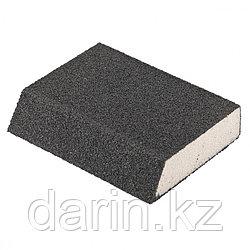 Губка для шлифования, 120 х 90 х 25 мм, трапеция, мягкая, P 40 Matrix