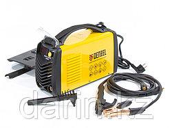 Аппарат инверторный дуговой сварки ММА-200ID, 200 А, ПВР 60%, диаметр электрода 1.6-5 мм, провод 2 м Denzel