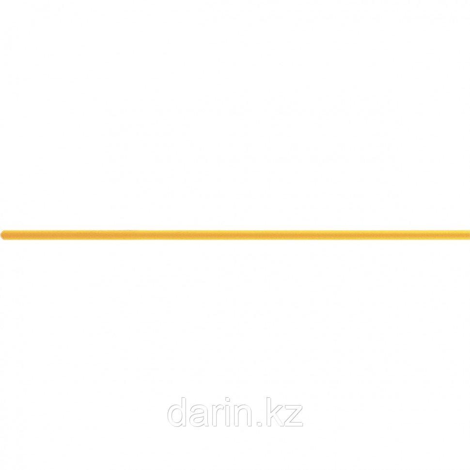 Черенок деревянный, 30 х 1300 мм, желтый лак, 1 сорт, Россия