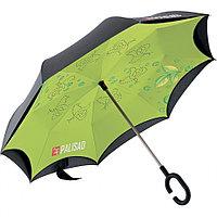 Зонт-трость обратного сложения, эргономичная рукоятка с покрытием Soft ToucH Palisad, фото 1