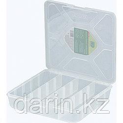 Органайзер универсальный средний, прозрачный матовый, 20 х 20 х 4.5 см Сибртех