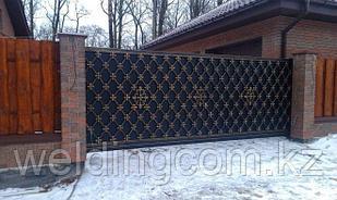 Консольные ворота (кованые)