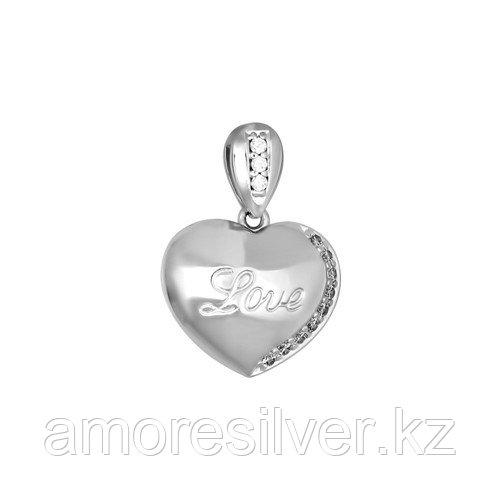 Подвеска SOKOLOV серебро с родием, love 94031122