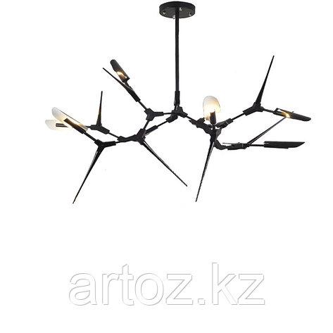 Подвесной светильник Tree branches 6 (black), фото 2