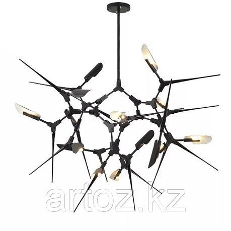 Подвесной светильник Tree branches 16 (black), фото 2