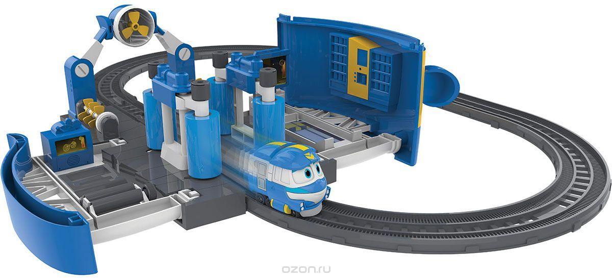 Набор Роботы-поезда «Мойка Кея»