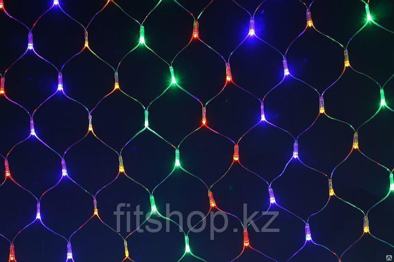 Светодиодная сетка 5*3 (цветная )