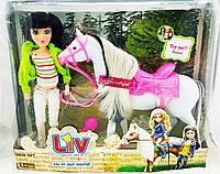Кукла Liv Real Life Livin our World Реальная жизнь с лошадкой (музыкальная)