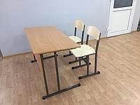 Комплект ученический: парта и 2 стула