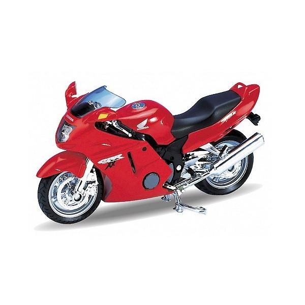 Игрушка Welly (Велли) модель мотоцикла 1:18 Honda CBR1100XX