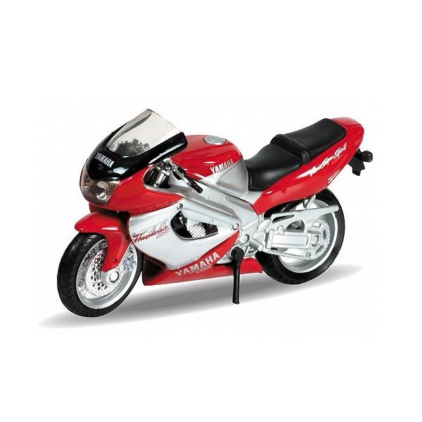 Игрушка Welly (Велли) модель мотоцикла 1:18 MOTORCYCLE / YAMAHA 2001 YZF1000R THUNDERACE