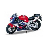 Игрушка Welly (Велли) модель мотоцикла 1:18 MOTORCYCLE / HONDA CBR900RR FIREBLADE