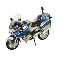 Игрушка Welly (Велли) модель мотоцикла BMW R1200RT полиция