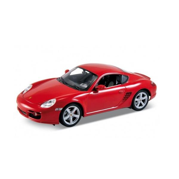 Игрушка Welly (Велли) модель машины 1:18 Porsche Cayman S