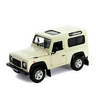 Игрушка Welly (Велли) модель машины 1:24 Land Rover Defender, фото 1