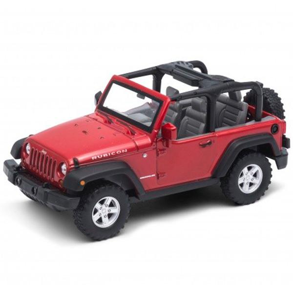 Игрушка Welly (Велли) модель машины 1:31 Jeep Wrangler Rubicon