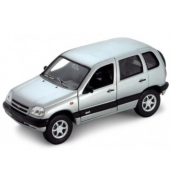 Игрушка Welly (Велли) модель  машины 1:34-39 Chevrolet Niva