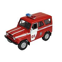 Игрушка Welly (Велли) модель  машины УАЗ  31514 ПОЖАРНАЯ ОХРАНА