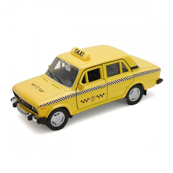 Игрушка Welly (Велли) модель  машины 1:34-39 LADA 2106 ТАКСИ