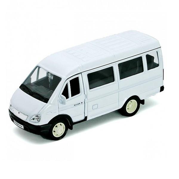 Игрушка Welly (Велли) модель  машины ГАЗель пассажирская