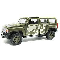 Игрушка Welly (Велли) модель  военной машины 1:34-39 Hummer H3