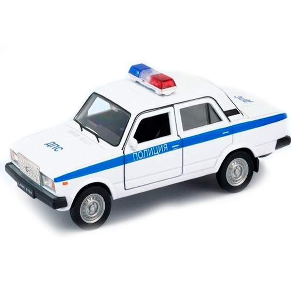 Игрушка Welly (Велли) модель  машины  1:34-39 LADA 2107 ПОЛИЦИЯ