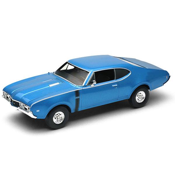 Игрушка Welly (Велли) модель  винтажной машины 1:34-39 Oldsmobile 442 1968