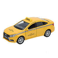 Игрушка Welly (Велли) модель  машины 1:34-39 LADA Vesta такси