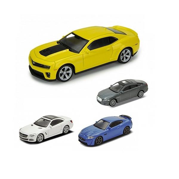 Игрушка Welly (Велли) модель  машины 1:43 в ассорт. 8 моделей (упаковка 32шт.)