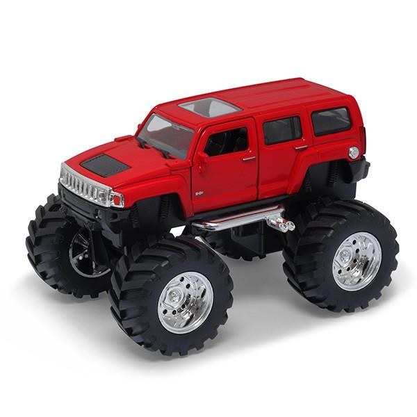 Игрушка Welly (Велли) модель  машины 1:34-39 Hammer H3 Big Wheel